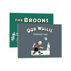 The Broons & Oor Wullie Calendars Pack