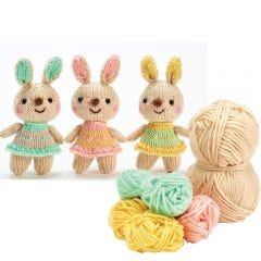 Bunnies Yarn Kit