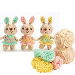 Bunnies Yarn Kit