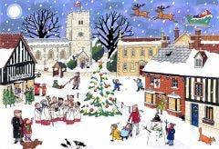 Christmas in the Village Jigsaw
