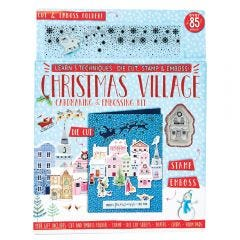 Christmas Village Cardmaking & Embossing Kit