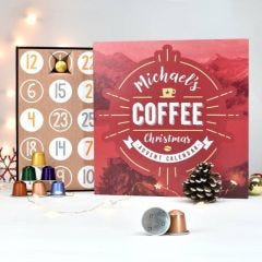 Personalised Coffee Advent Calendar