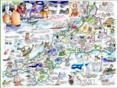 Cornwall Jigsaw by Tim Bulmer