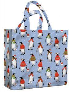 Cosy Penguins Mini PVC Bag