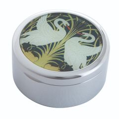 Crane - Two Swans Trinket Box