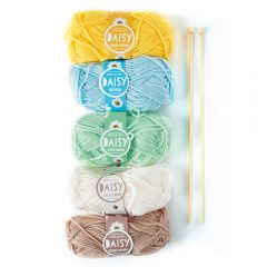 Daisy Yarn Kit 2