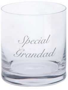 Dartington Tumbler - Special Grandad
