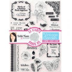 Debbi Moore Stamp and Die Set