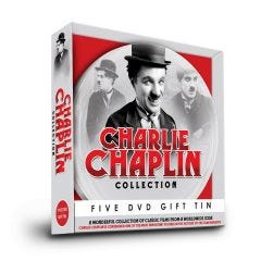 Charlie Chaplin 5 DVD Gift Tin
