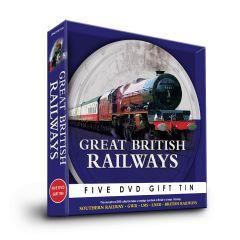 Great British Railways 5 DVD Gift Tin