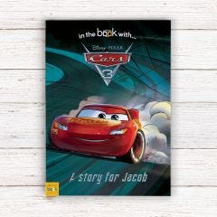 Personalised Disney Cars 3 Story Book