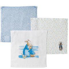 Peter Rabbit  Face Cloths