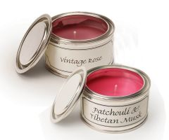 Filled Candle Tins - Floral - Pack of Two