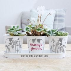 Personalised Flower Pots