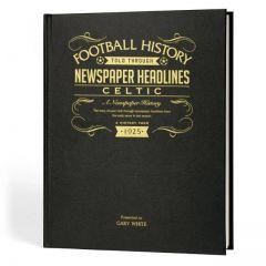 A3 Football Newspaper Book - Celtic