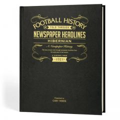 A3 Football Newspaper Book - Hibernian