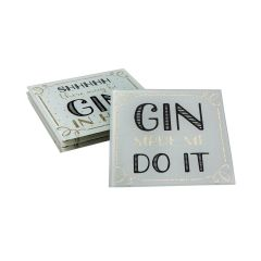 Gin Time Coasters