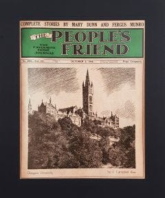 The People's Friend Cover Print - Glasgow University