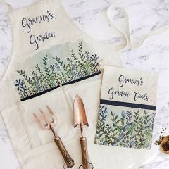 Personalised Gardening Tool and Apron Gift Set