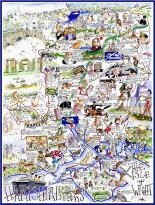 Hampshire Jigsaw by Tim Bulmer