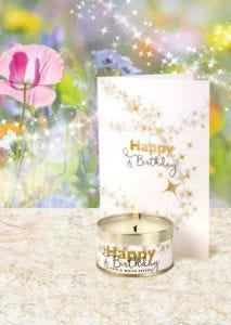 Happy Birthday Candle & Card