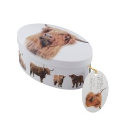 Highland Coo Vanilla Fudge