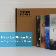 Historical Fiction - Genre Box of 4 Surprise Books