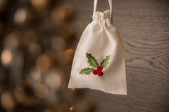 Holly Drawstring Bag