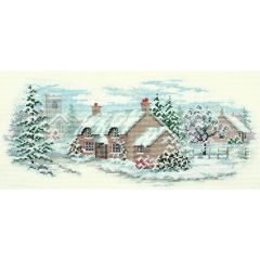 Holly Lane Counted Cross-Stitch Kit