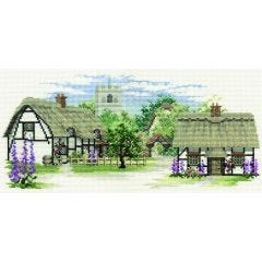 Foxglove Lane Counted Cross-Stitch Kit