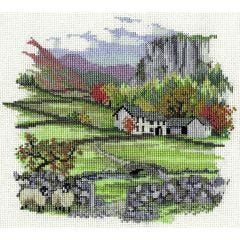 Cragside Farm Counted Cross-Stitch Kit