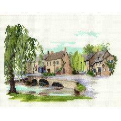 Bourton on the Water Counted Cross Stitch Kit