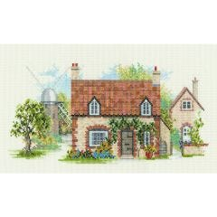 Old Mill Lane Counted Cross Stitch Kit
