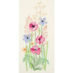 Autumn Floral Counted Cross Stitch Kit