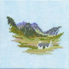 Edinburgh Castle and Croft Counted Cross-Stitch Kit