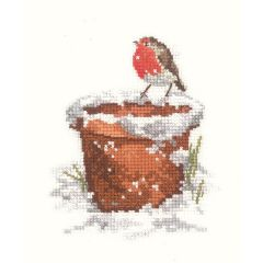 Garden Friend Counted Cross Stitch Kit