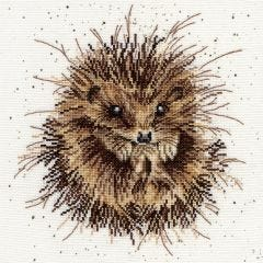 Wrendale Hegehog Counted Cross Stitch Kit