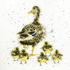 Wrendale Ducks Counted Cross Stitch Kit