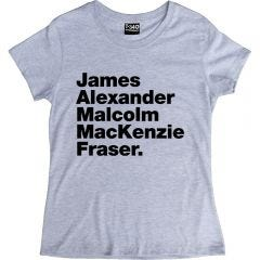 Outlander-style Jamie Fraser Ladies T-shirt