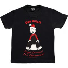 Oor Wullie Jings Christmas Kids T-shirt