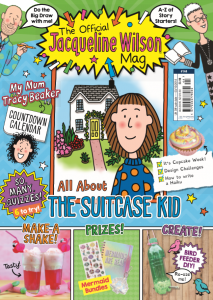 Jacqueline Wilson Magazine Subscription-8 Issues UK