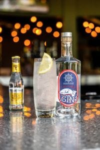 Navy Strength LeithAL Craft Gin