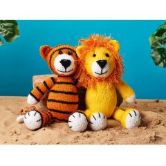 Tommy The Tiger & Roary The Lion Knit Kit