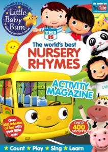 Little Baby Bum Activity Magazine-UK