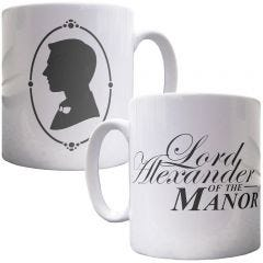 Personalised Lord of the Manor Mug