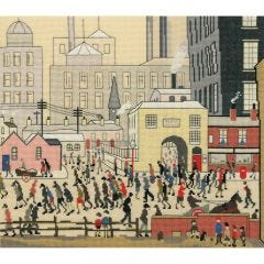 LS Lowry Style: Coming from the Mill