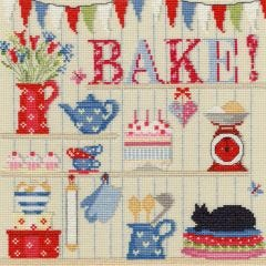Counted Cross Stitch Kit: Bake!