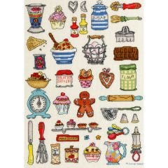 Counted Cross Stitch Kit: Baking