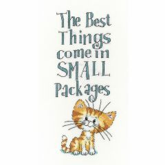 Peter Underhill: Small Packages Counted Cross Stitch Kit