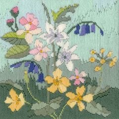 Rose Swalwell in Cumbria Spring  Long  Stitch Seasons Kit